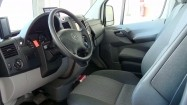 Wnętrze samochodu dostawczego