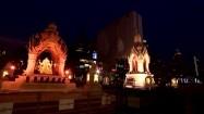 Posąg Buddy w Bangkoku