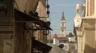 Kościelna wieża w Jerozolimie