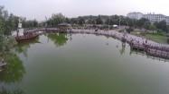 Chiny - staw w parku