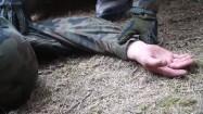 Żołnierze na poligonie - ćwiczenia