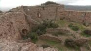 Ruiny zamku Jalance w Hiszpanii