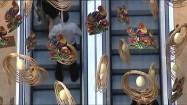 Wielkanocne dekoracje w galerii handlowej