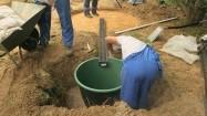 Instalowanie zbiornika na deszczówkę