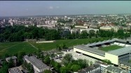 Stadion Cracovii z lotu ptaka