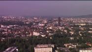"""Panorama Krakowa ze """"Szkieletorem"""""""