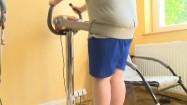 Pas wibracyjny do ćwiczeń