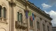 Ratusz w miasteczku Scicli na Sycylii