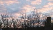 Niebo wieczorem