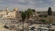 Ściana Płaczu i Wzgórze Świątynne w Jerozolimie