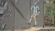 Graffiti na murze