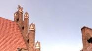 Dach Zamku Kapituły Warmińskiej w Olsztynie
