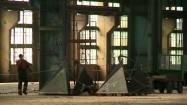 Huta - wnętrze hali produkcyjnej