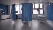 Pusta sala szpitalna