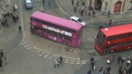 Piętrowe autobusy w Oksfordzie