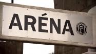 "Napis ""Arena"" - stadion piłkarski"