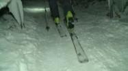 Wchodzenie pod górę w nartach turowych