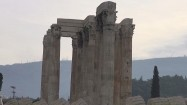 Ruiny świątyni Zeusa Olimpijskiego w Atenach