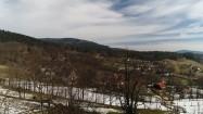 Miejscowość w górach