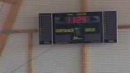 Hala sportowa - tablica wyników