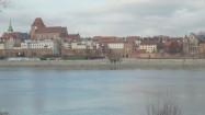 Rzeka Wisła w Toruniu