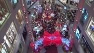 Wnętrze centrum handlowego w Kuala Lumpur