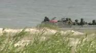 Żołnierze w amfibii