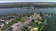 Most drogowy nad Zalewem Zegrzyńskim