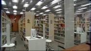 Wnętrze biblioteki akademickiej w Katowicach