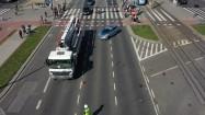 Wypadek drogowy - hulajnoga
