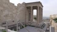 Ruiny świątyni Erechtejon na Akropolu
