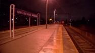 Odjeżdżający pociąg
