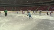 Trening hokejowy