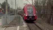 Pociąg Szybkiej Kolei Miejskiej w Warszawie