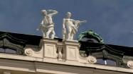 Pałac Belwederski w Wiedniu - rzeźby