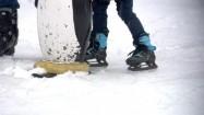 Nauka jazdy na łyżwach