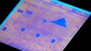 Monitor na konsolecie do realizacji dźwięku