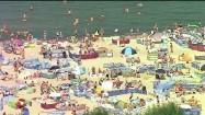Tłumy na plaży
