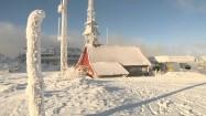 Ośrodek narciarski Skrzyczne zimą