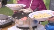 Danie gotowane w plenerze