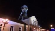 Szyb Daniłowicza w Wieliczce nocą