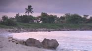 Plaża nad Morzem Karaibskim