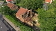 Zawalony dom