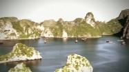 Zatoka Ha Long - panorama