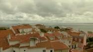 Zabudowania w dzielnicy Alfama w Lizbonie