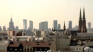 Panorama Warszawy od strony Pragi-Północ
