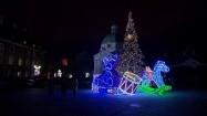 Świąteczne iluminacje na Rynku Nowego Miasta w Warszawie