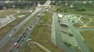 Korek przy bramkach na autostradzie A1