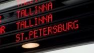 Nazwy miast na tablicy odlotów