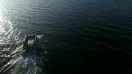 Łódź na Morzu Bałtyckim
